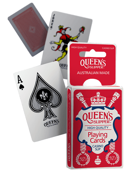 high quality australian made playing cards - queen's slipperqueen's ...